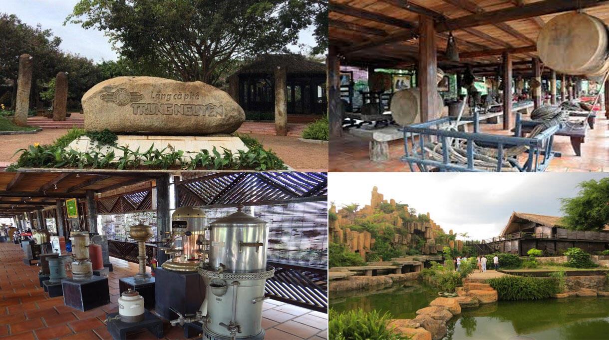 làng cafe trung nguyên