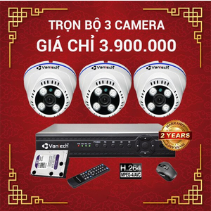 Lắp Đặt Camera Nhà Xưởng Trọn Gói - Giá Từ 3Tr9 (Trọn Bộ 3 Camera)
