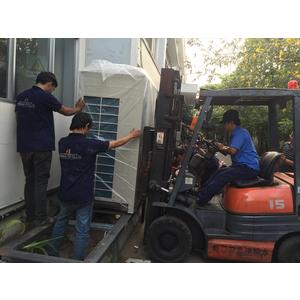 Lắp đặt hệ thống điều hòa không khí Daikin Nhà Máy In Số 7