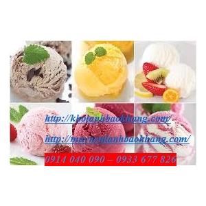 Lắp đặt kho lạnh bảo quản kem