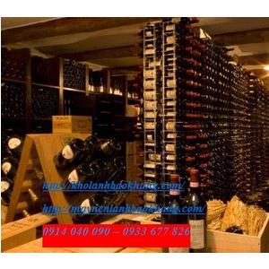 Lắp đặt kho lạnh bảo quản rượu