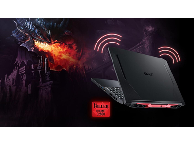 Laptop Acer Nitro 5 2020 AN515-55-58A7 Core i5-10300H Ram 8GB SSD 512GB GTX 1650 4G 17.3 Inch New