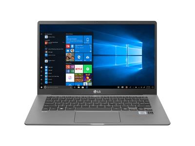 Laptop LG gram 14ZD90N-V.AX55A5 Xám bạc (Cpu i5 - 1035G1, Ram 8GD4 , 512 G SSD M.2, 14 inch FHD, Dos