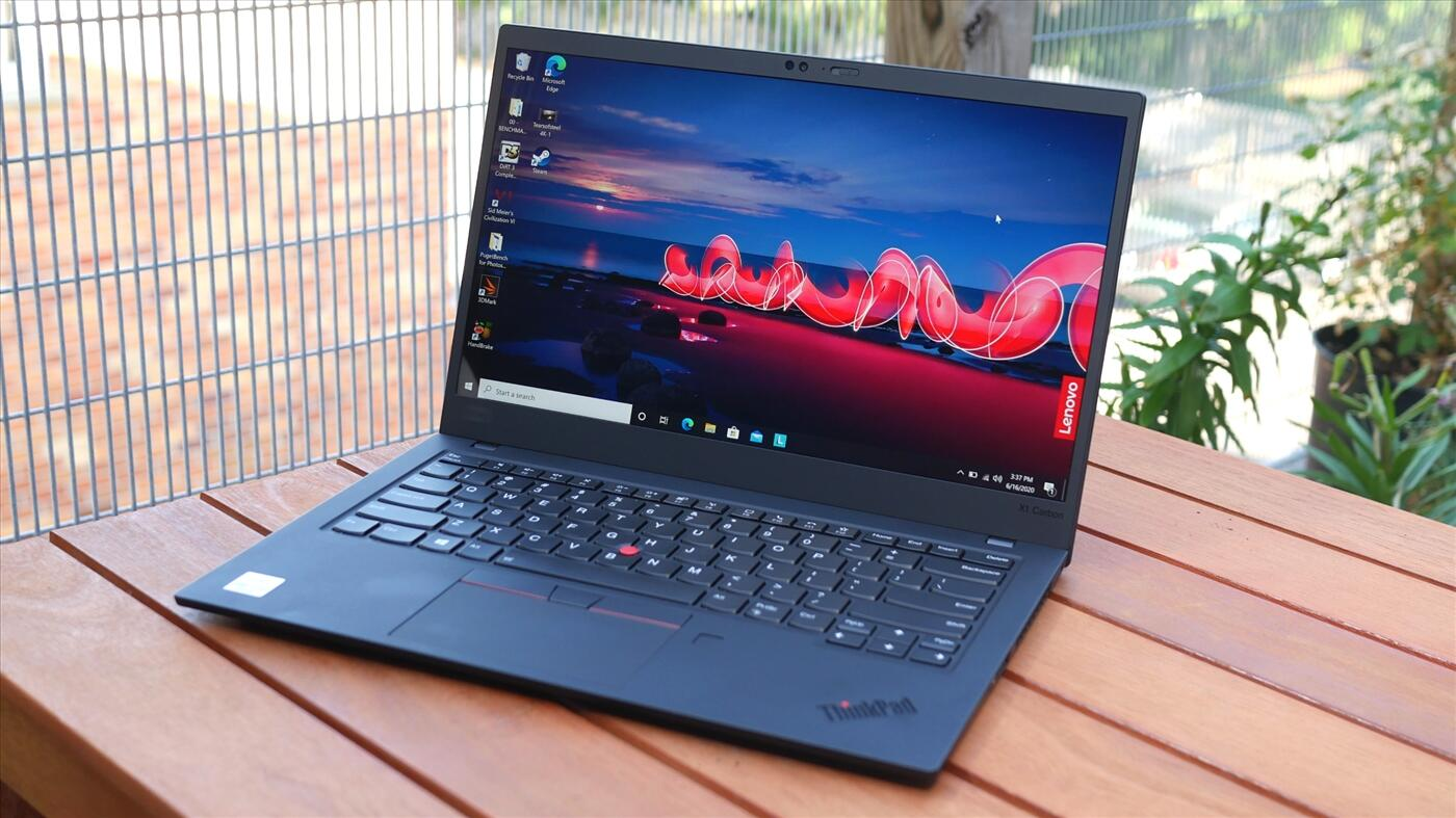 Lenovo ThinkPad X1 Carbon Gen 8 - 4K HDR - Quad Core i7 10510U / RAM 16GB / 256GB New