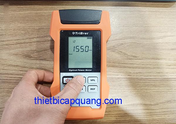 Lấy kết quả trên máy đo công suất quang như thế nào