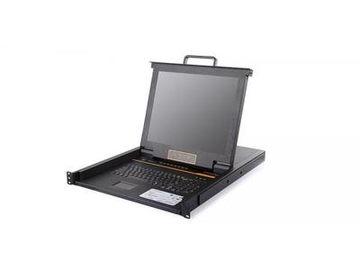 17 8 Port CAT5 LCD KVM Console - LC1708