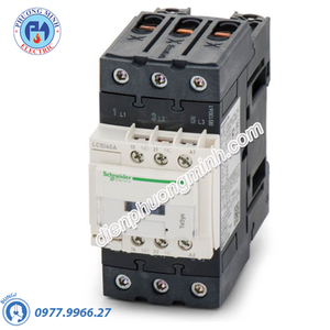 Contactor 3P, cuộn dây điều khiển 24VDC, 65A, 1N/O, 1N/C - Model LC1D65ABD