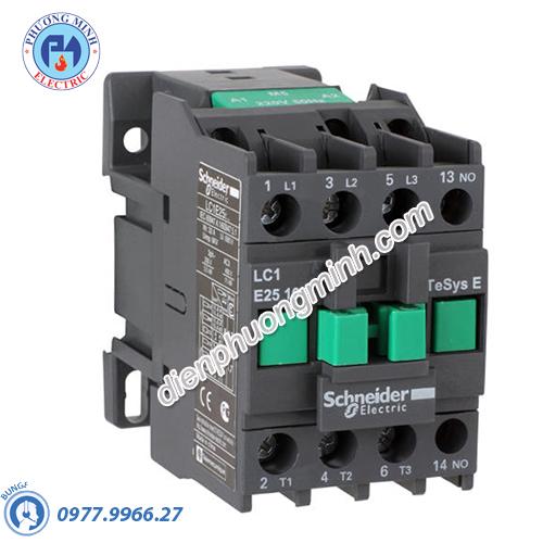 Contactor 3P 25A 1N/C 48VAC LC1E - Model LC1E2501E5
