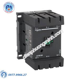 Contactor 3P 160A 220VAC LC1E - Model LC1E160M6