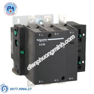 Contactor 3P 250A 220VAC LC1E - Model LC1E250M6
