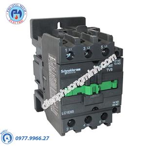 Contactor 3P 50A 380VAC LC1E - Model LC1E50Q6