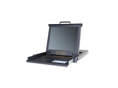 LCD KVM over IP Console with 24 port CAT5 KVM-17 - LC2724i