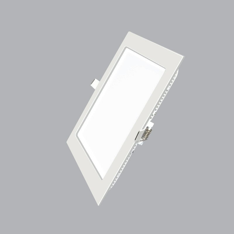 Led Panel vuông âm Dimmer 18W trắng, vàng