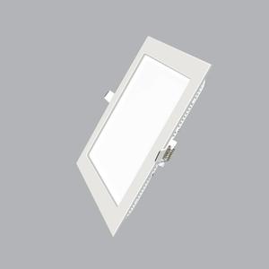 Led Panel vuông âm Dimmer 9W trắng, vàng