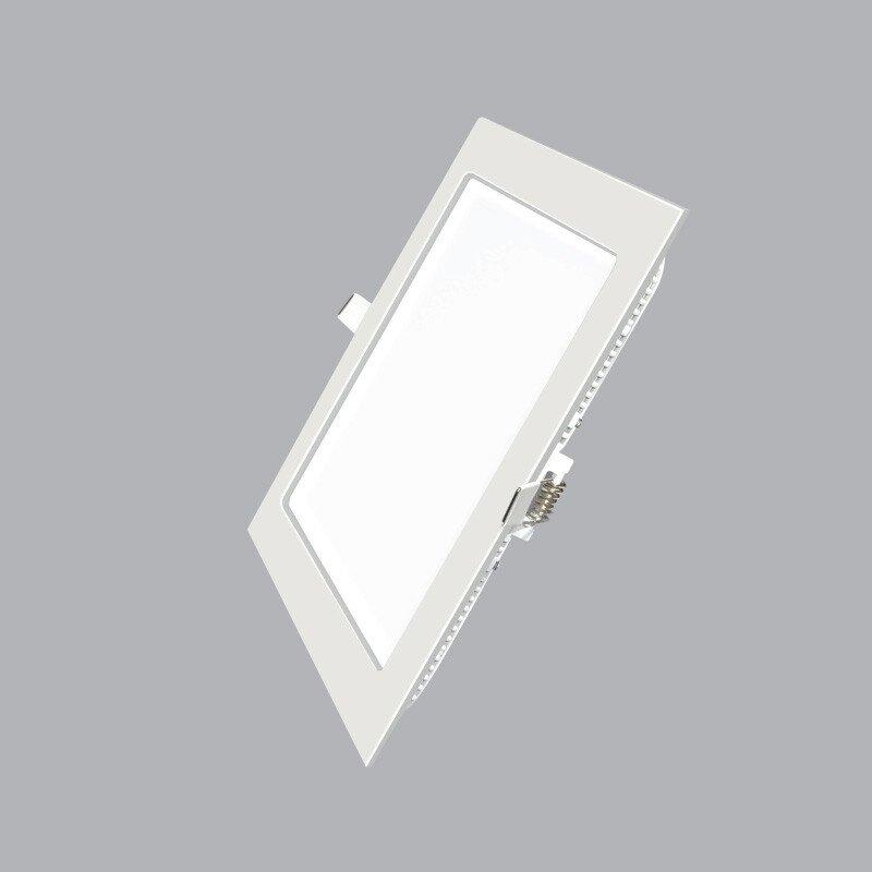 Led Panel vuông âm SPL-12 Trắng, vàng