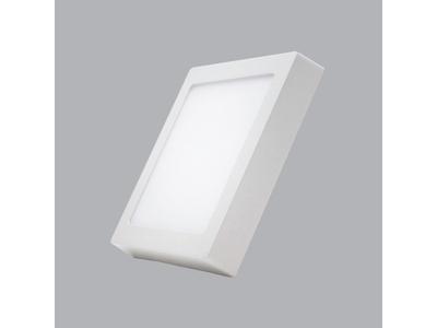 Led Panel vuông nổi Dimmer 12W trắng, vàng