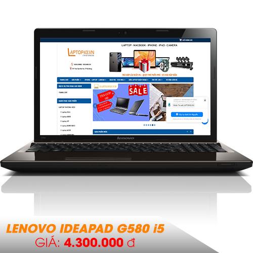 Lenovo IdeaPad G580 || I5-3210M || RAM 4G/HDD 320G || 15.6