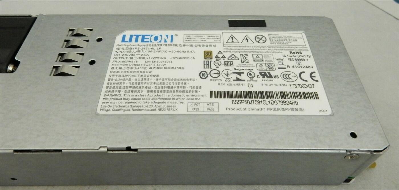 Bộ nguồn Lenovo TD350 RD650 RD450 550 RD350 450W