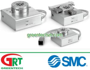 Rotating rotary table / motorized max. 10 Nm   LER series   SMC Vietnam
