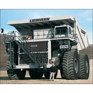 Liebherr T 282B – 'quái vật' trong thế giới xe tải