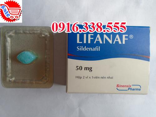 Thuốc LIFANAF 50 mg Điều Trị rối loạn cương dương