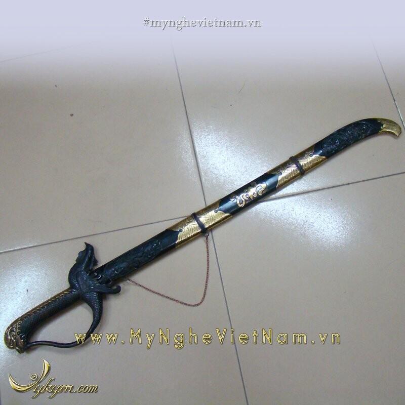 Kiếm đồng phong thủy dài 70cm