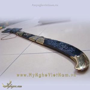 Kiếm đồng thờ cúng chuôi rồng dài 60cm 80cm