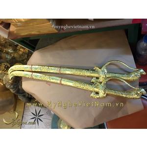 Đôi kiếm đồng phong thủy dài 60cm