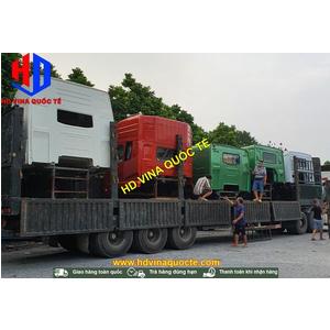 Lô 7 cabin đã về đến Hà Nội Việt Nam - Bán các loại cabin thay thế cho xe tải Howo Dongfeng Jac Camc Foton Auman Shacman ...