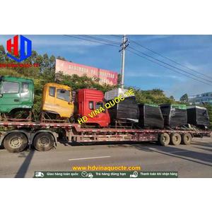 Lô 7 cabin đang trên đường từ Trung Quốc về Việt Nam- HD Vina Quốc Tế bán các loại cabin xe tải