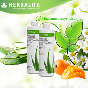 Lô hội thảo mộc cô đặc (Herbalife Aloe) hỗ trợ tiêu hóa