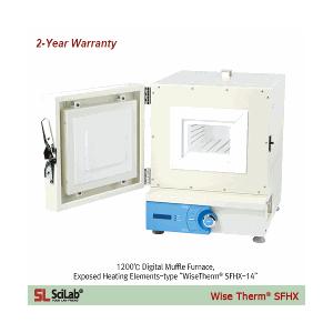 Lò nung 12 lít, gia nhiệt 1200 độ C Scilab SFHX-12