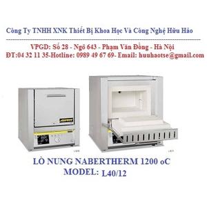 LÒ NUNG 1200 oC MODEL L40/12/B410