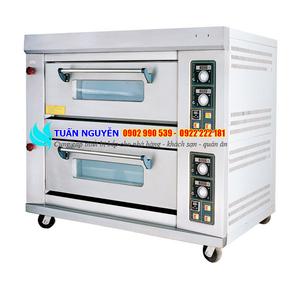 Lò nướng công nghiệp 2 tầng dùng điện