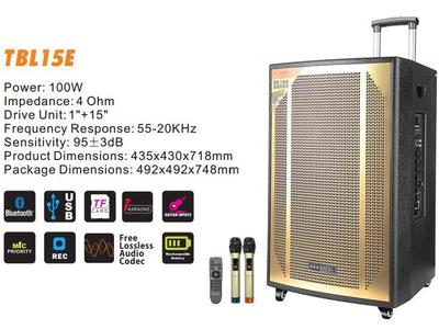 Loa Kéo Karaoke TBL-15E 4 Tấc