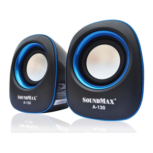 Loa máy tính SOUNDMAX A130 (2.0) - Loa Chính Hãng