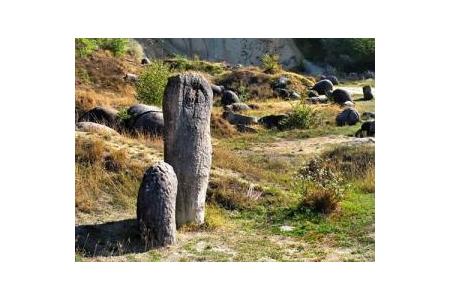 Loại đá tự phình to ở Romania