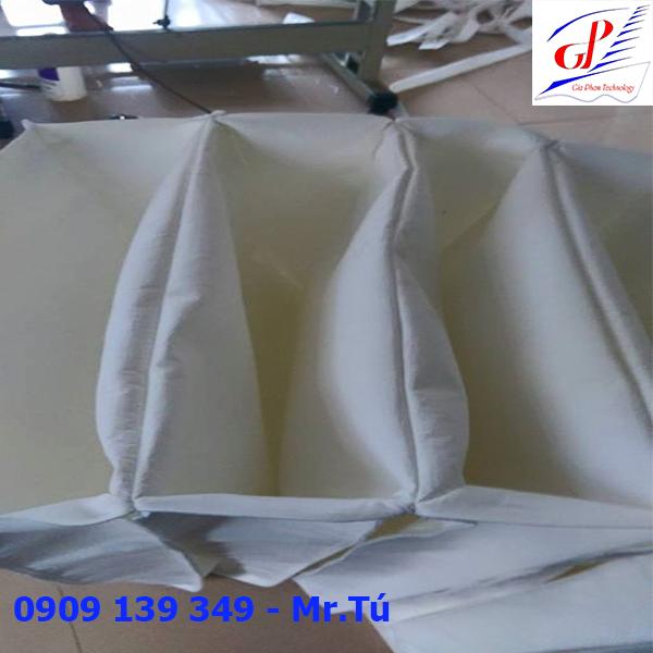 túi lọc bụi công nghiệp và túi lọc bụi chịu nhiệt, túi lọc bụi nhiều ngăn