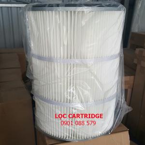 Lọc cartridge giấy PE - d320xd215x660mmH