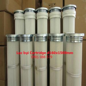 Lọc cartridge giấy PE - d160xL1500mm