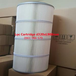Lọc cartridge giấy PE - D320xL900mm