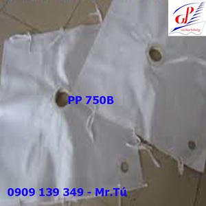 Lọc khung bản vải lọc PP 750B