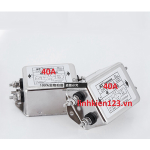 Bộ lọc nhiễu 1 pha 220V 40A