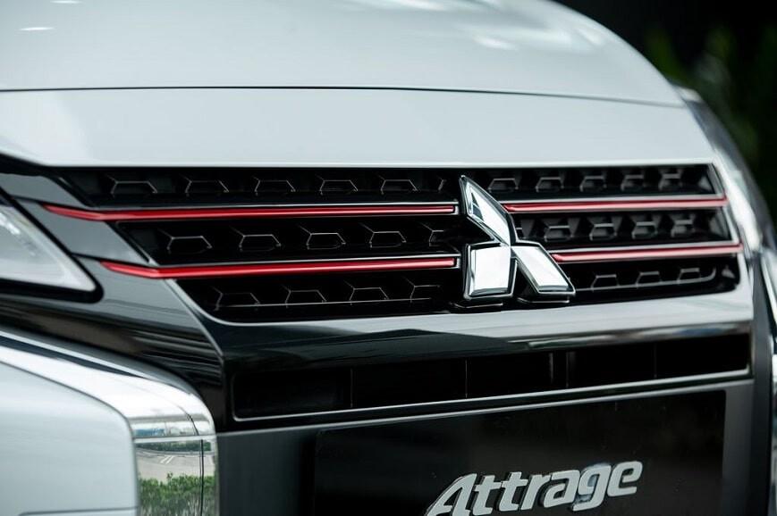 Logo xe Mitsubishi Attrage CVT Premium