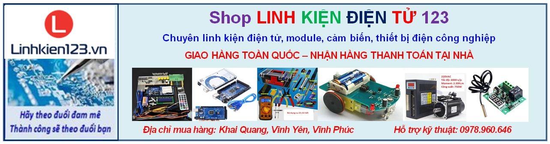 Shop linh kiện điện tử 123