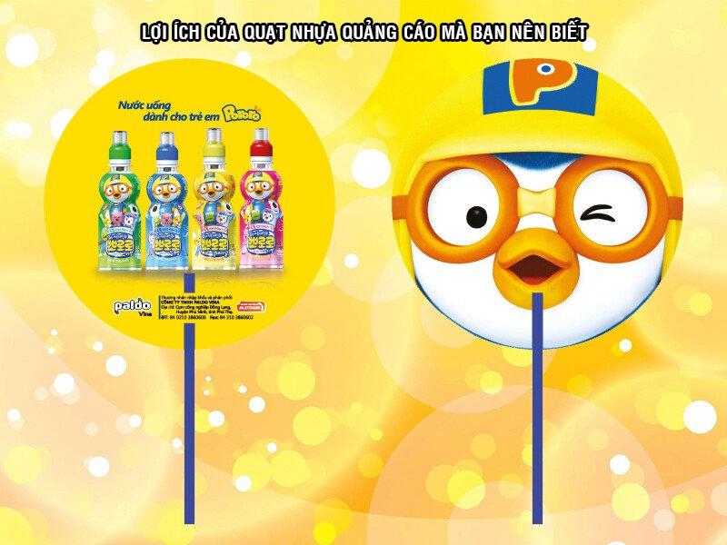 Quạt nhựa quảng cáo giá rẻ và những hiệu quả tối ưu mà nó mang lại