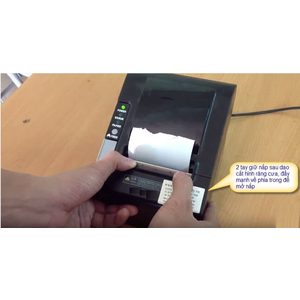 Lỗi Máy in hóa đơn nhiệt bị kẹt giấy, không mở được máy để thay giấy