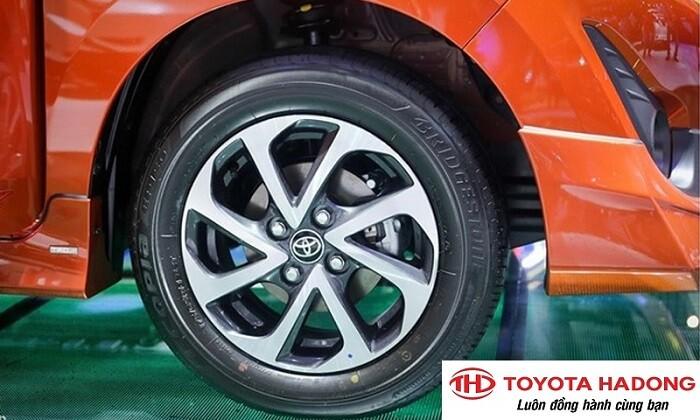 Mâm bánh xe Toyota Wigo 2021