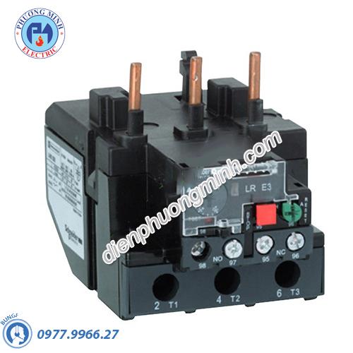 Rơle nhiệt 63-80A sử dụng với Contactor LC1E80-E95 - Model LRE363