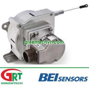 Linear position sensor / spring-loaded potentiometer / analog 12.7 - 38.1 mm | 9600 series |